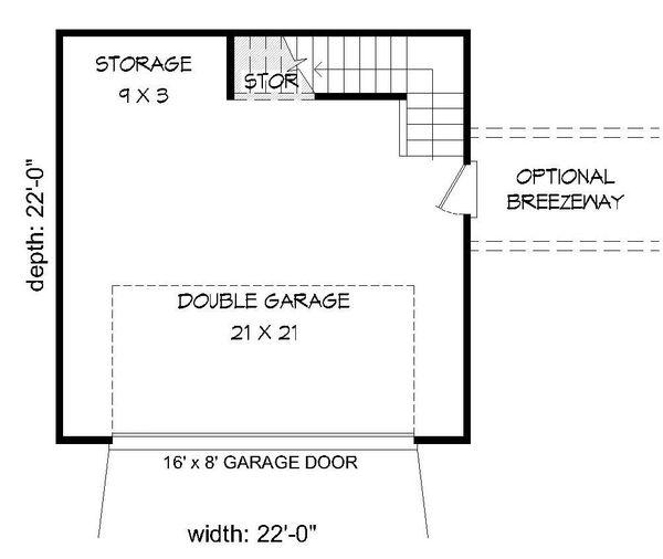Country Floor Plan - Main Floor Plan Plan #932-128