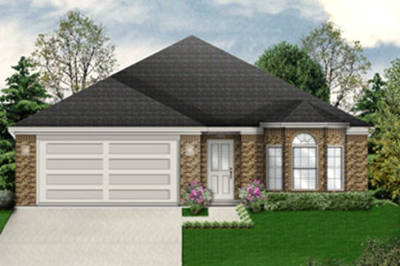 Dream House Plan - Traditional Exterior - Front Elevation Plan #84-474
