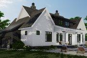 Farmhouse Style House Plan - 3 Beds 2.5 Baths 2467 Sq/Ft Plan #51-1152 Exterior - Rear Elevation