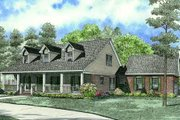 Farmhouse Style House Plan - 4 Beds 2.5 Baths 2523 Sq/Ft Plan #17-2284 Exterior - Front Elevation