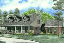 Home Plan - Farmhouse Exterior - Front Elevation Plan #17-2284
