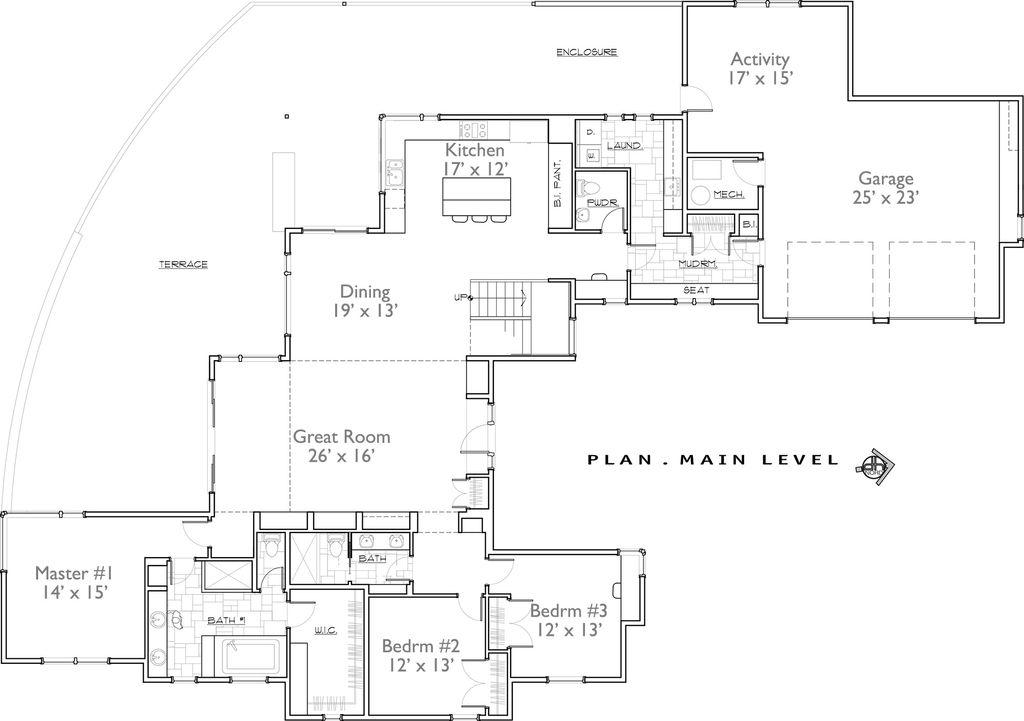 Contemporary Floor Plan Main 892 10