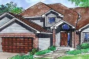 Traditional Exterior - Front Elevation Plan #320-394
