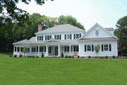 Southern Style House Plan - 4 Beds 4.5 Baths 3728 Sq/Ft Plan #137-128