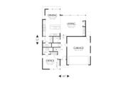 Modern Style House Plan - 2 Beds 2.5 Baths 2047 Sq/Ft Plan #48-525 Floor Plan - Main Floor