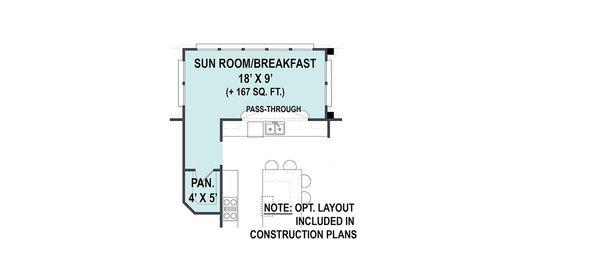 Optional Sun Room/Breakfast