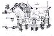 Colonial Style House Plan - 4 Beds 3.5 Baths 3064 Sq/Ft Plan #310-915 Floor Plan - Main Floor