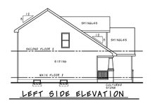 Craftsman Exterior - Other Elevation Plan #20-2353