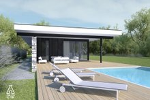 House Plan Design - Modern Exterior - Other Elevation Plan #552-7