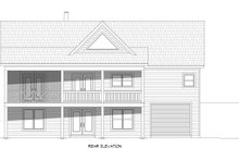 House Plan Design - Country Exterior - Rear Elevation Plan #932-310