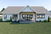 Farmhouse Style House Plan - 3 Beds 2 Baths 2122 Sq/Ft Plan #1070-32 Exterior - Rear Elevation