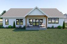 Farmhouse Exterior - Rear Elevation Plan #1070-32