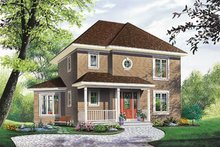 House Plan Design - Traditional Exterior - Front Elevation Plan #23-265