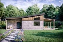 Architectural House Design - Modern Exterior - Front Elevation Plan #924-3