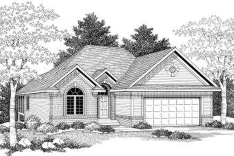 Traditional Photo Plan #70-580 - Houseplans.com