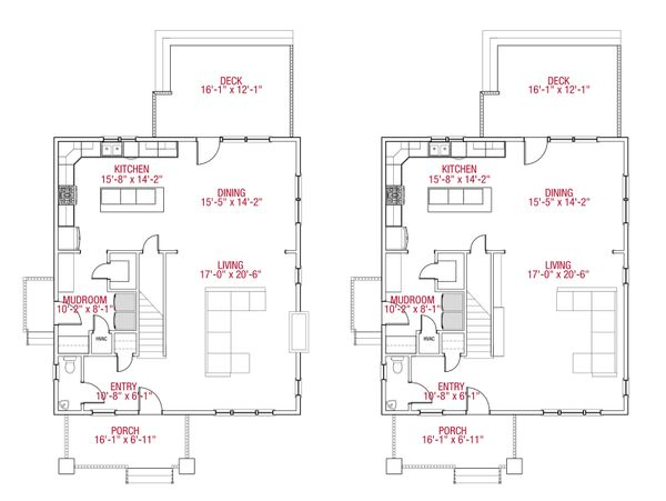 Home Plan - Alternate Main Floor