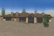 Architectural House Design - Mediterranean Exterior - Rear Elevation Plan #892-31