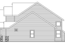 Dream House Plan - Craftsman Exterior - Other Elevation Plan #124-759
