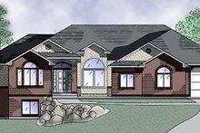 Home Plan - Traditional Exterior - Front Elevation Plan #5-128