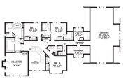 Craftsman Style House Plan - 4 Beds 4.5 Baths 3959 Sq/Ft Plan #48-250