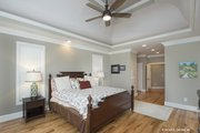 Craftsman Style House Plan - 3 Beds 3.5 Baths 3647 Sq/Ft Plan #929-361 Interior - Master Bedroom