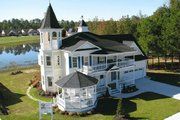 Victorian Style House Plan - 4 Beds 3.5 Baths 3131 Sq/Ft Plan #137-249