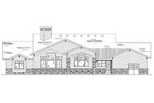 Home Plan - Craftsman Exterior - Rear Elevation Plan #5-358