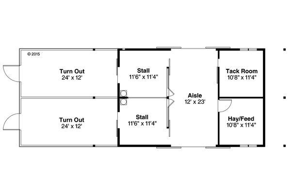 Dream House Plan - Country Floor Plan - Main Floor Plan #124-985