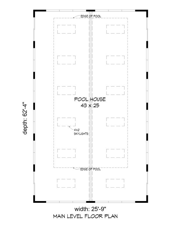 Dream House Plan - Southern Floor Plan - Main Floor Plan #932-332
