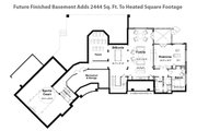 Craftsman Style House Plan - 4 Beds 3 Baths 6145 Sq/Ft Plan #928-104 Floor Plan - Other Floor Plan