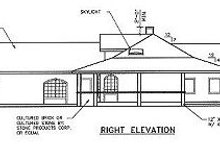 Dream House Plan - Ranch Exterior - Other Elevation Plan #60-452