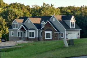 Dream House Plan - Craftsman Exterior - Front Elevation Plan #1057-12