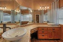 Mediterranean Interior - Master Bathroom Plan #80-184