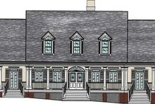 Architectural House Design - Southern Exterior - Front Elevation Plan #37-104