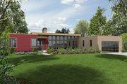 Modern Style House Plan - 3 Beds 2.5 Baths 2241 Sq/Ft Plan #48-477