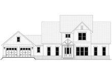 House Design - Farmhouse Exterior - Front Elevation Plan #430-248