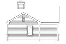 Dream House Plan - Cottage Exterior - Rear Elevation Plan #22-607