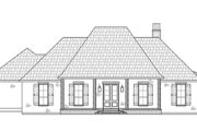 Southern Style House Plan - 4 Beds 2.5 Baths 2175 Sq/Ft Plan #1074-37 Exterior - Front Elevation