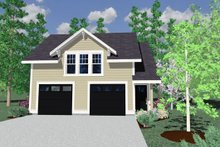 Country Exterior - Other Elevation Plan #509-39
