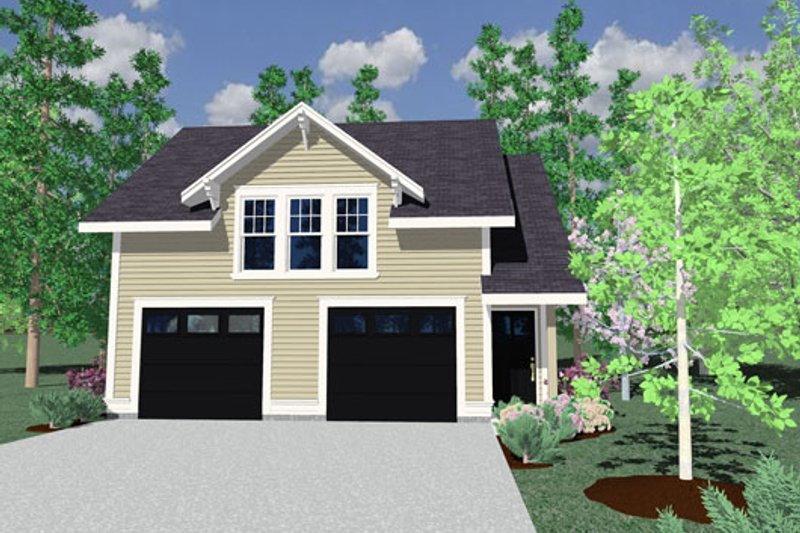 Country Exterior - Other Elevation Plan #509-39 - Houseplans.com