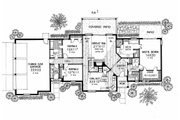 Country Style House Plan - 3 Beds 2.5 Baths 2399 Sq/Ft Plan #310-617 Floor Plan - Main Floor Plan