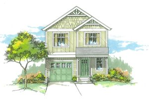 Craftsman Exterior - Front Elevation Plan #53-528