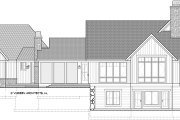 Country Style House Plan - 3 Beds 3.5 Baths 3947 Sq/Ft Plan #928-333 Exterior - Rear Elevation