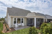 Craftsman Style House Plan - 3 Beds 2 Baths 1674 Sq/Ft Plan #929-437 Exterior - Rear Elevation