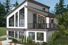Architectural House Design - Cottage Exterior - Rear Elevation Plan #23-2713