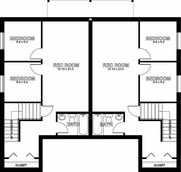 House Plan Design - Basement