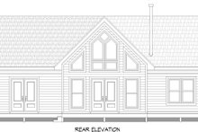Country Exterior - Rear Elevation Plan #932-305