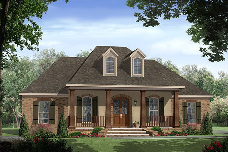 Country Style House Plan - 3 Beds 2.5 Baths 1888 Sq/Ft Plan #21-368