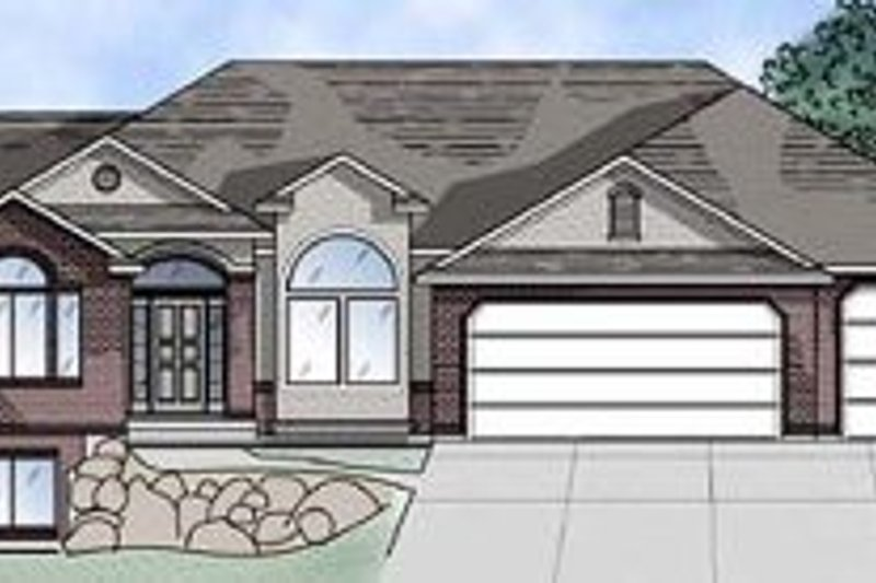 Home Plan - Traditional Exterior - Front Elevation Plan #5-121