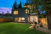 Modern Style House Plan - 4 Beds 3.5 Baths 3595 Sq/Ft Plan #1066-3 Exterior - Rear Elevation